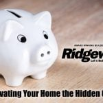 Renovating Your Home the Hidden Costs