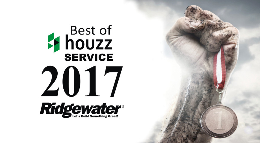 HOUZZ ANNOUNCES BEST OF HOUZZ 2017 WINNERS … RIDGEWATER HOMES