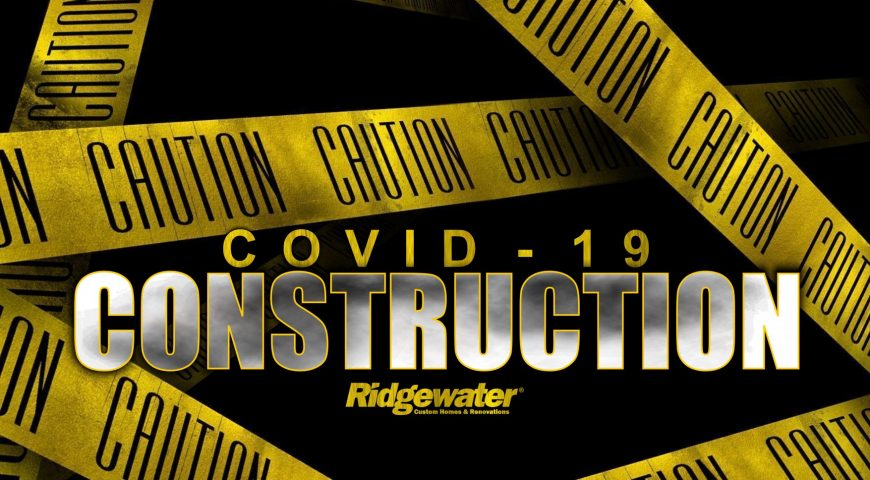 How are construction Companies dealing with COVID-19