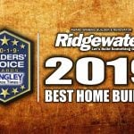 2019 WINNER OF BEST HOME BUILDER