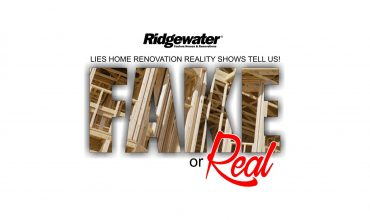 HOME RENOVATION REALITY SHOWS FAKE OR REAL!