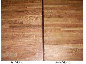 Red oak vs. White Oak hardwood flooring – what's the difference?