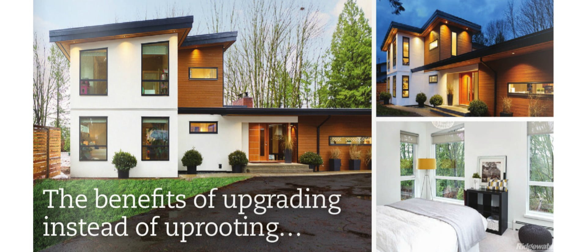 The Benefits of Upgrading instead of Uprooting…