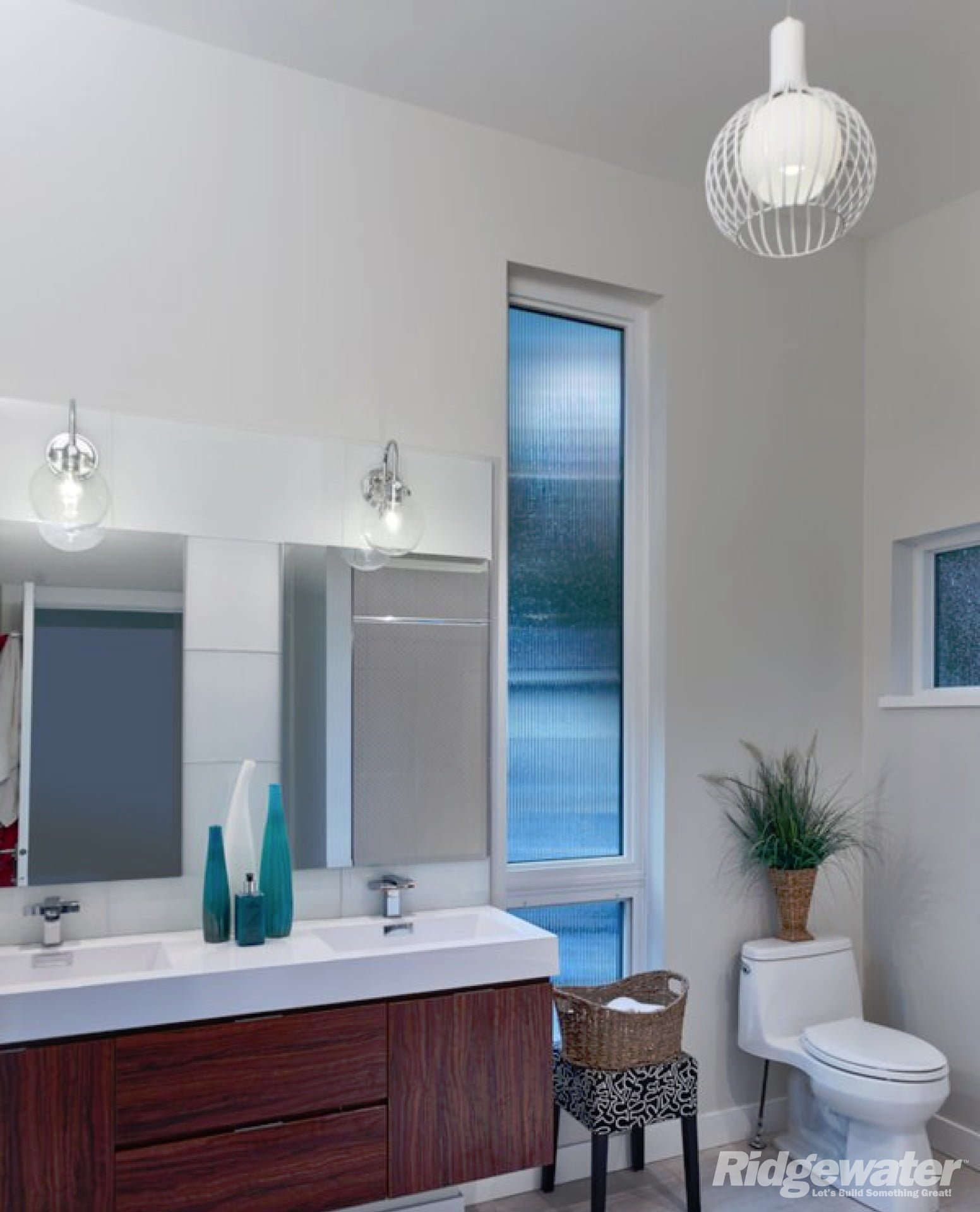 Bathroom Renovations Coquitlam: Mid Century Modern Project